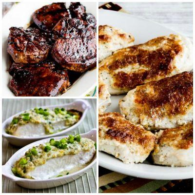 Low-Carb Recipe Love: Six Low-Carb Dinner Menus for Valentine's Day or Dinner Guests