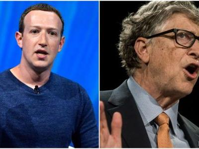 Bill Gates and Mark Zuckerberg are working together to fund research for COVID-19 treatments as the pandemic continues to spread