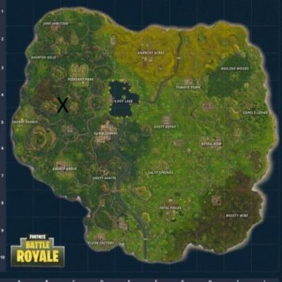 Fortnite: where to find Snobby Shores treasure map