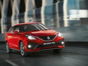 2019 Maruti Suzuki Baleno RS Facelift Heres Your First Look