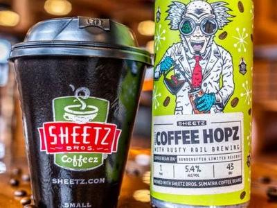 Sheetz Releasing Coffee IPA With Rusty Rail Brewing