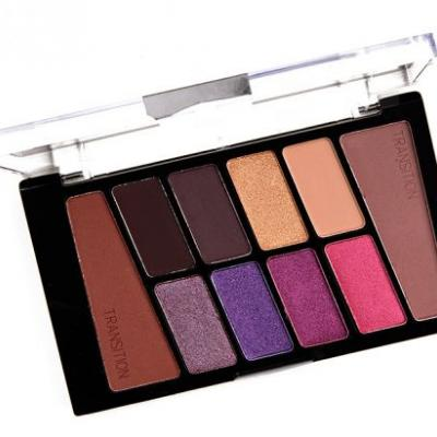 Wet 'n' Wild VI Purple Color Icon Eyeshadow Palette Review & Swatches