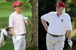 Birdies, pars and diplomacy: Trump and Abe to play golf