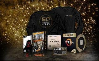 AMD takes the covers off its 50th anniversary Ryzen 7 2700X and Radeon VII
