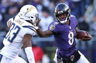Skip Bayless says Lamar Jackson deserves credit despite the Ravens' playoff loss to Chargers
