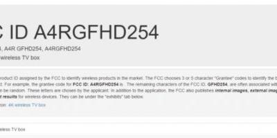 Google's New '4K Wireless TV Box' Shows Up At The FCC