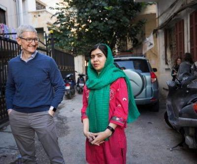 Tim Cook Discusses Apple's Partnership With Malala Fund to Support Girls' Education