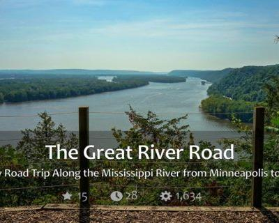 Great River Road - From Minneapolis to New Orleans