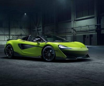 McLaren Reveals The 600LT Spider