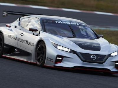 Nissan Just Turned The Leaf Into A Racing Car And It Looks Badass