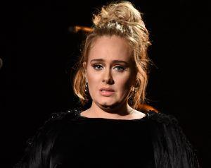 Adele Tears Up As She Restarts George Michael Tribute At Grammys