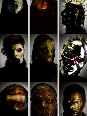 Here Is A Closer Look At SLIPKNOT's New Masks