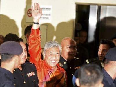Malaysia ex-Deputy PM charged with graft, money laundering