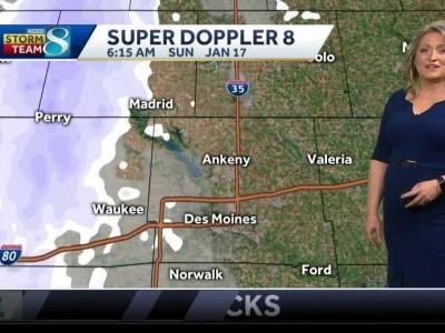 Videocast: Snow Showers Early