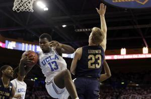 UCLA edges Notre Dame 65-62 on Wilkes' 3-pointer