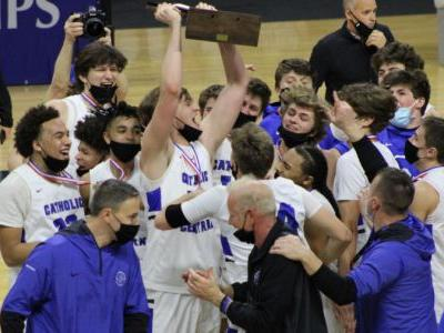 GR Catholic Central completes perfect journey to first-ever state title