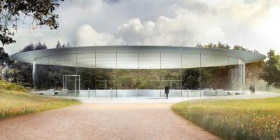 Apple Park and the Steve Jobs Theater, opening soon