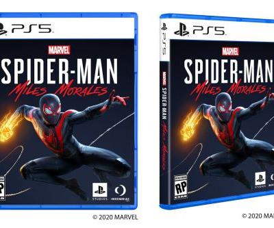 Sony reveals the PS5 game box design
