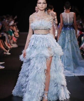 GEORGES HOBEIKA's Autumn Winter 2018/19 couture collection