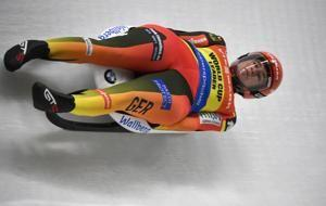 Ivanova wins World Cup luge race, Britcher medals again
