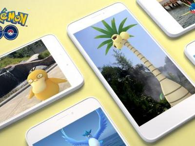 AR+ Support Comes to Pokémon GO for Android