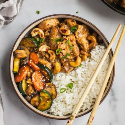 Instant Pot Cashew Chicken Whole30