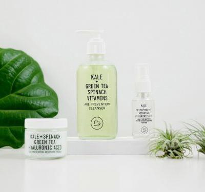 This superfood skincare line uses ingredients like spinach and kale to give you glowing skin - I tried the products and can attest that it's not a gimmick