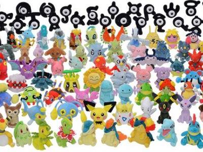 That's a lot of Pokemon plush toys