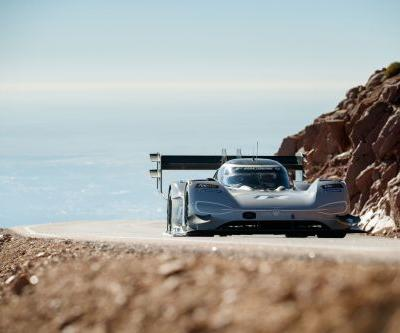 Volkswagen Destroys Pikes Peak Record With Their I.D. R
