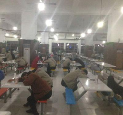 Workers at an Apple manufacturing plant in China complained about poor working conditions and exposure to noxious chemicals