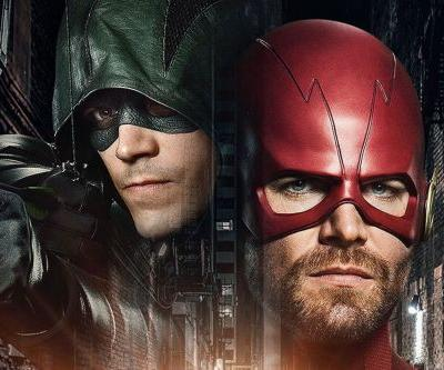 The Flash and Arrow Switch Places on the CW's 'Elseworlds' Poster