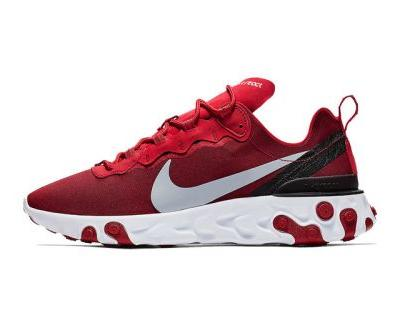 """Nike React Element 55 Surfaces in """"Team Red"""""""