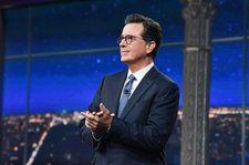 Stephen Colbert Tackles Historic Midterm Elections In Live 'Late Show'