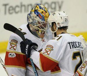 Trocheck's late goal lifts Panthers past Blues, 2-1