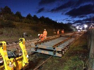Transformation Of Wherry Lines Continues With Autumn Works At Reedham junction