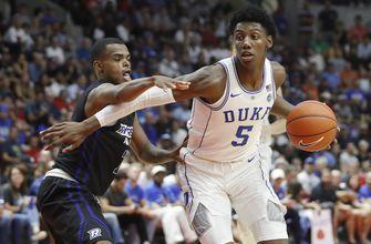 Canadian star Barrett has 34 points in Duke exhibition debut