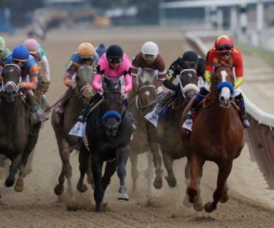 Did Justify Have Another Horse Blocking For Him In His Belmont Stakes Win?