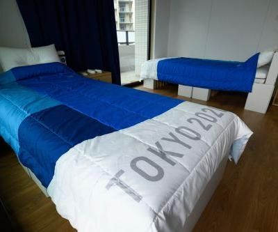 No, the cardboard beds athletes are sleeping on at the Tokyo Olympics aren't 'anti-sex'