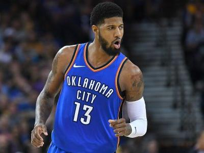 NBA wrap: Paul George scores 45 as Thunder come back to beat Rockets