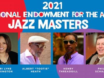 Congratulations to the 2021 National Endowment for the Arts Jazz Masters