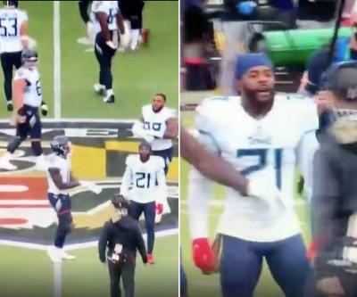 John Harbaugh, Malcolm Butler have heated confrontation before Ravens-Titans game