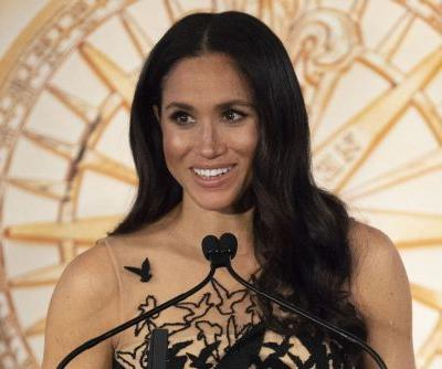 Meghan Markle wears sparkly halter top for date with Prince Harry