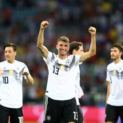 Germany come back from the brink in thrilling win