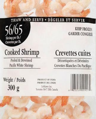 Loblaws recalls frozen shrimp for risk of harmful bacteria