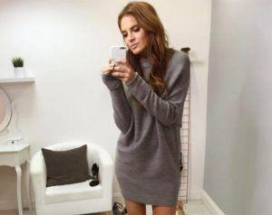 Binky Felstead Shows Off Her Bump On The Set Of Made In Chelsea