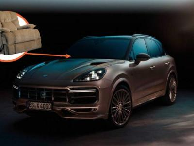 TechArt Teamed Up with a Couch Maker for its Porsche Tuning Kit and it Looks Like a Couch