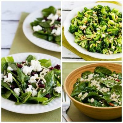 Ten Low-Carb Winter Salads for Holiday Dinners