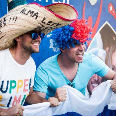 Fans take centre stage at the 2018 FIFA World Cup Russia