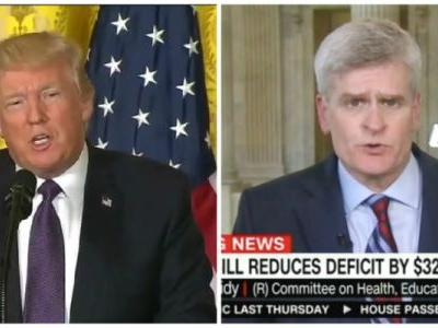 Trump Comes to Sen. Bill Cassidy's Defense: 'Class Act Who.Doesn't Lie'