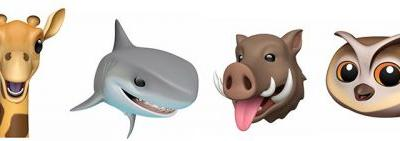 Apple Introduces New Giraffe, Shark, Owl and Boar Animoji in iOS 12.2 Beta